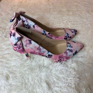 Just fab spring floral high heel size 8